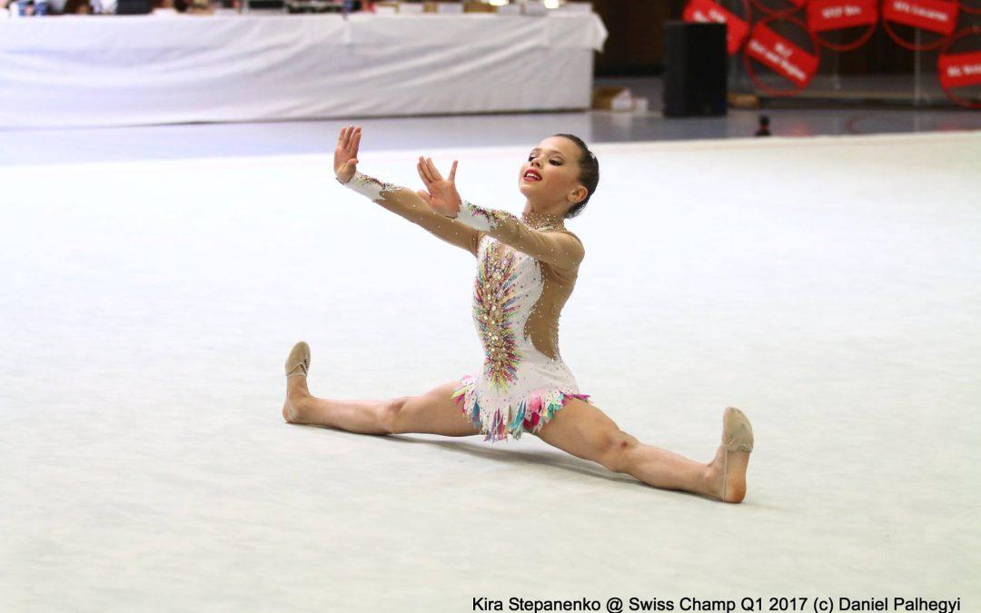 Gymnastique Rythmique: résultats de la 1ère qualification P2-P3-G2
