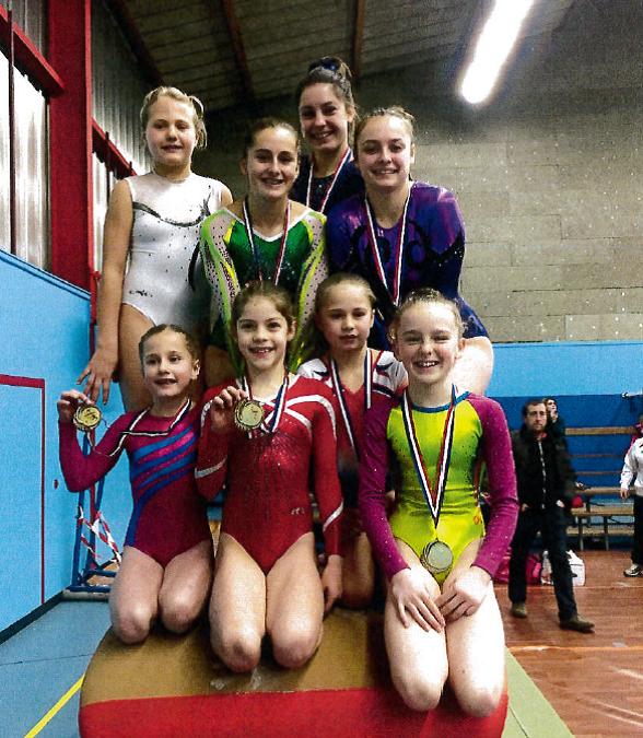 GAF: compte-rendu des compétitions de gymnastique artistique de la saison 2016-2017