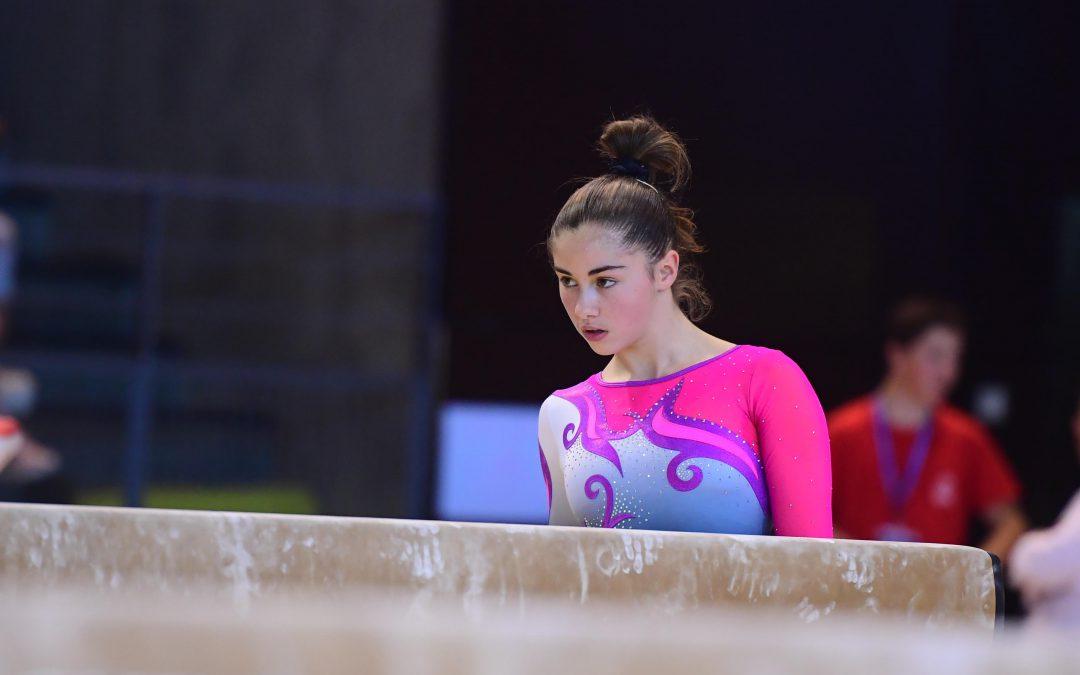 Gymnastique artistique féminine: stage avril 2019